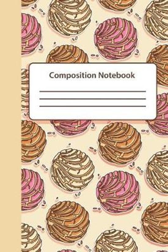 Conchas Composition Notebook