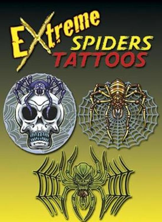 Extreme Spiders Tattoos