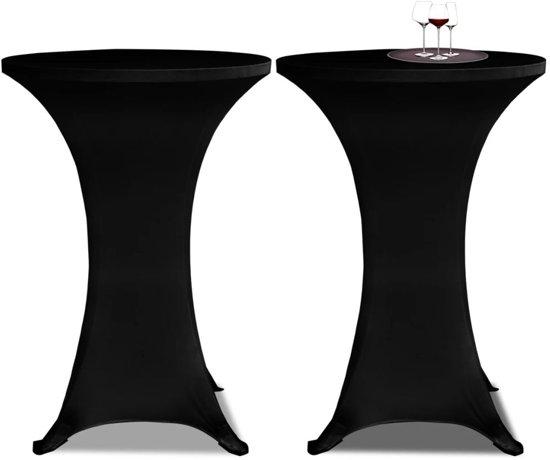 Moderne Witte Statafel.Bol Com Vidaxl Rokken Voor Statafel Zwart O80 Cm Set Van 2