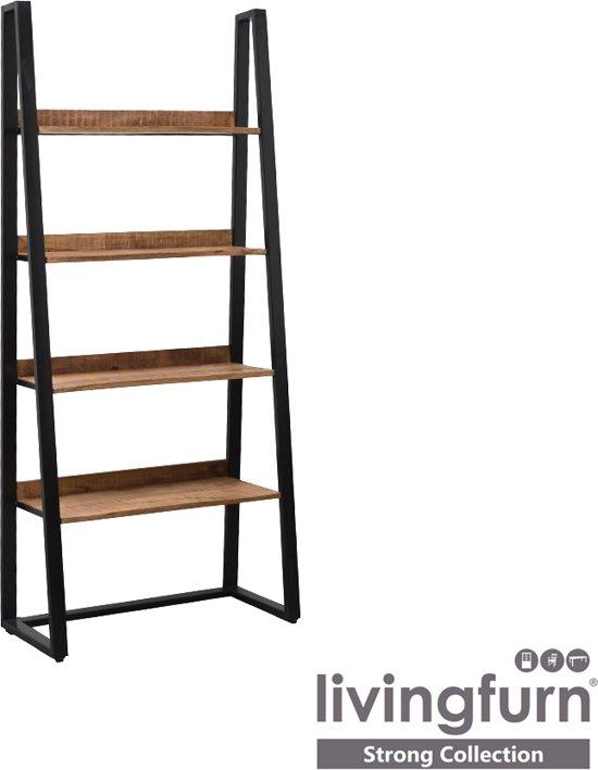 industriele boekenkast strong 90 x 40 x 200 cm