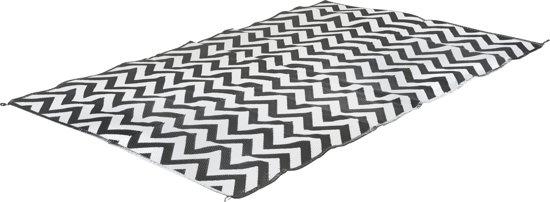 Bo-Leisure Vloerkleed - 200x180 cm - Zwart Wit