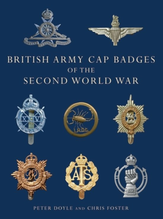 Bol British Army Cap Badges Of The Second World War