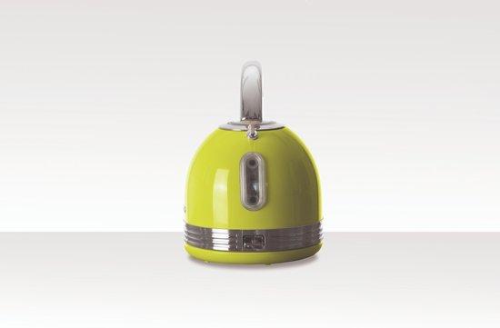 Schneider SL W2 LG Retro Waterkoker Lime Green
