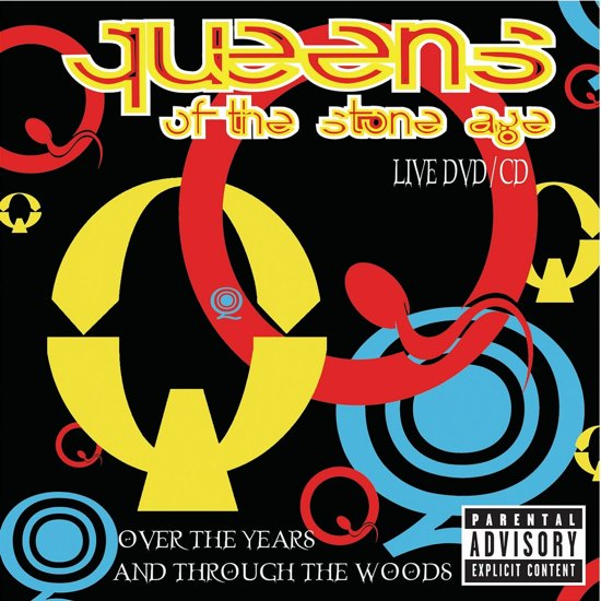 CD cover van Over The Years & Through T van Queens Of The Stone Age