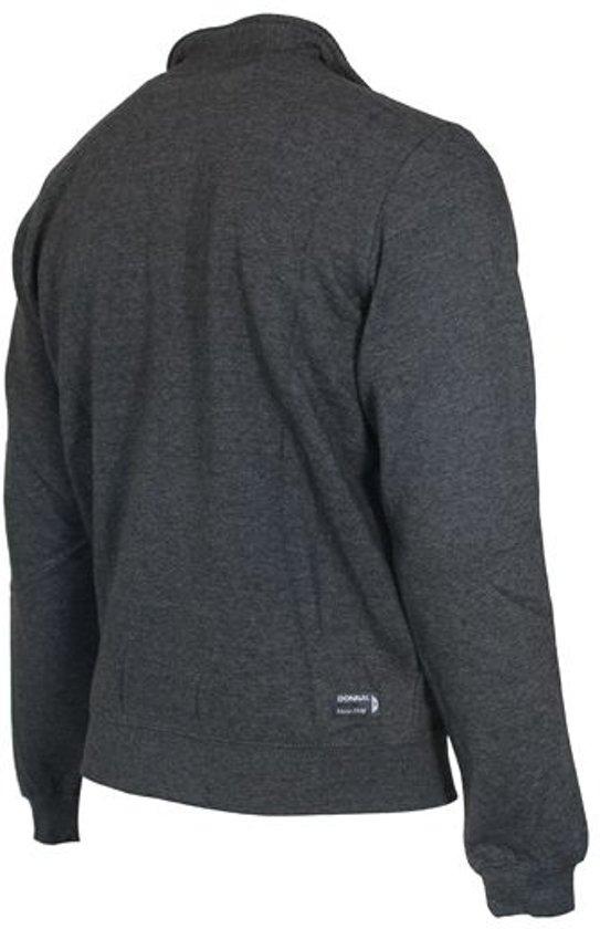 Donkergrijs Zonder Donnay Xl Sweater Maat Heren Sporttrui Gemêleerd Capuchon vqx0wUqO