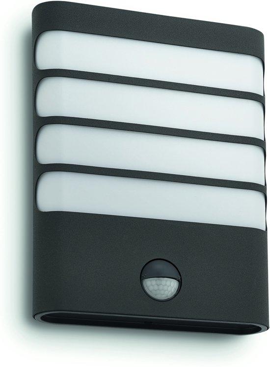 Philips myGarden Raccoon - Wandlamp - LED - Antraciet