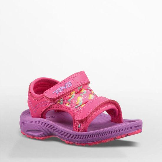 a8d0a2682 Teva T Psyclone 4 Sandaal Junior Wandelsandalen - Maat 21 - Unisex -  roze paars