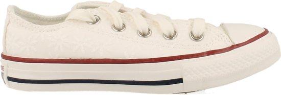 Converse Sneaker Laag Meisjes/dames Maat 27/38 Trend Clean White - Wit | 30