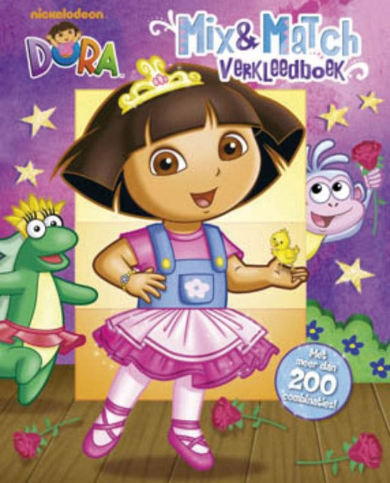 Dora - Dora - Mix & Match verkleedboek