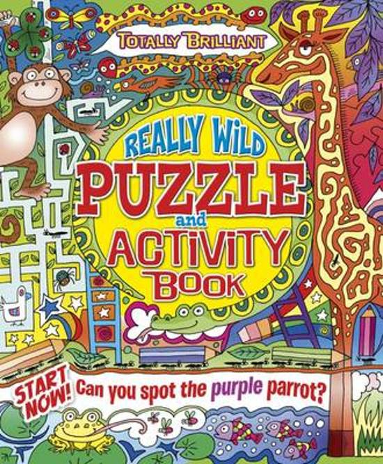Really Wild Puzzle and Activity Book
