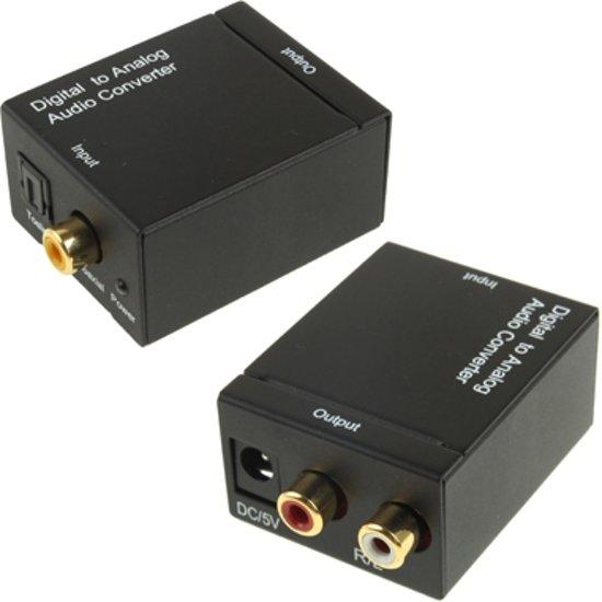 Verrassend bol.com | Digitale optische coaxiale Toslink naar analoge RCA FG-95