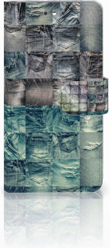 LG K4 (2017) Uniek Design Hoesje Jeans in Sint Jacobiparochie / Sint Jabik