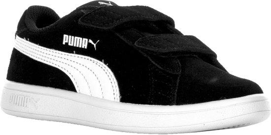PUMA Smash v2 SD V PS Kinderen Sneakers Puma Black Puma White Maat 34