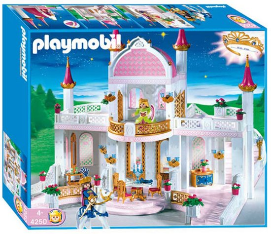 Playmobil sprookjeskasteel 4250 playmobil for Chateau princesse playmobil 5142