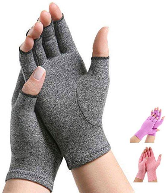 Pro-orthic Reuma Artritis Compressie Handschoenen Grijs - Large