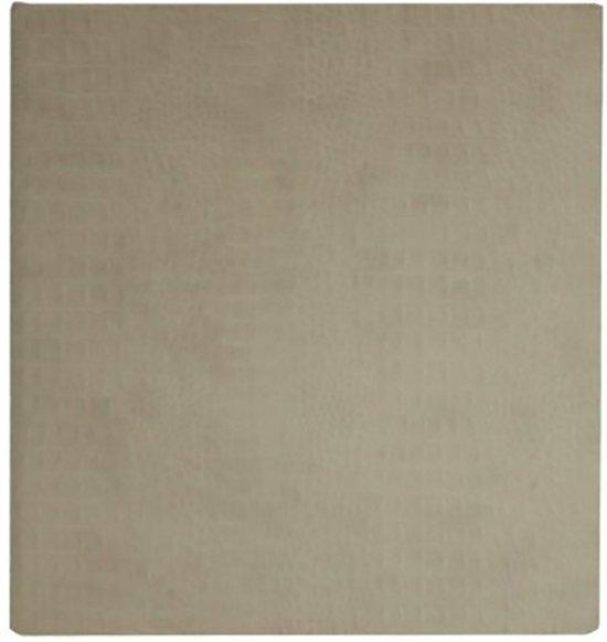 GOLDBUCH GOL-48807 Gastenboek CROCO creme, 23x25 cm