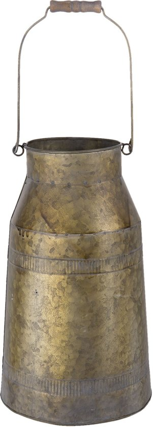 Melkbus ø 23*37 cm / 11 L Brons bruin | 6Y2666 | Clayre & Eef