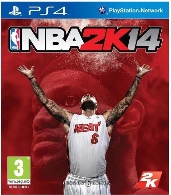 NBA Basketball 2K14  PS4