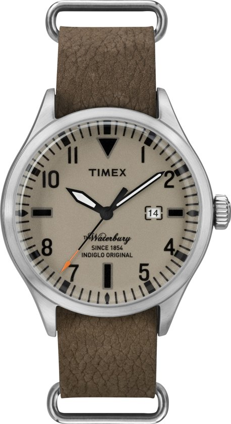 Timex Waterbury Brown  TW2P64600 - Horloge - 40 mm - Bruin
