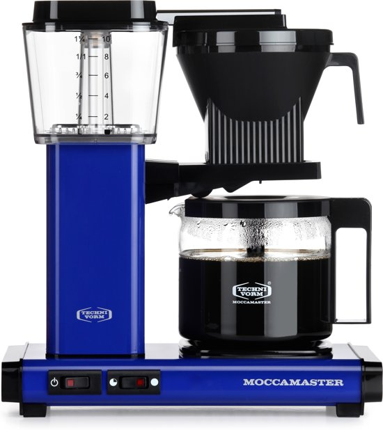 Technivorm Filterkoffiemachine KBG741, Royal Blue - Moccamaster