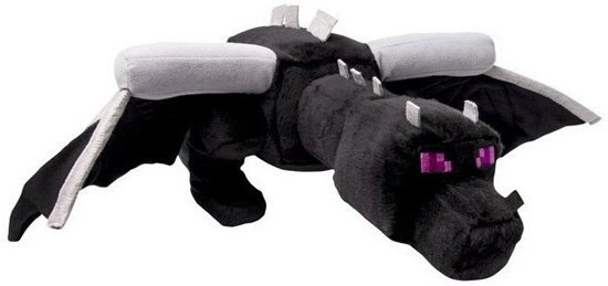 Minecraft Pluche Knuffel - Ender Dragon 60cm.