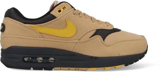 2a12e334416 bol.com | Nike Air Max 1 Premium - Sneakers - Lichtbruin/Geel/Zwart ...