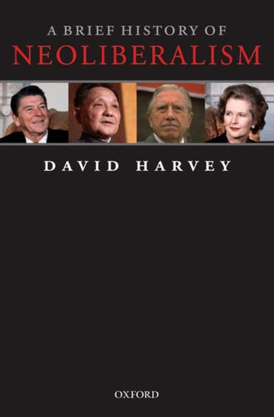 Boek cover A Brief History of Neoliberalism van David Harvey (Paperback)
