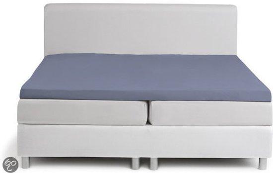 Topcover katoen 180 x 210 (43) lavendel Standaard (tot 8 cm) Nightkiss