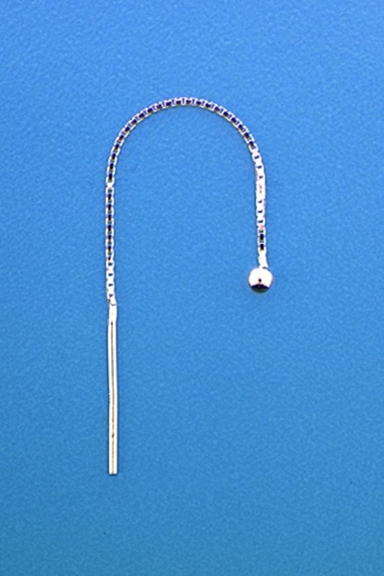 The Jewelry Collection Doortrekoorbellen - Zilver