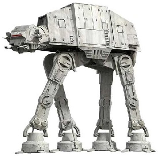 Bouwpakket AT-AT Star Wars- metaal