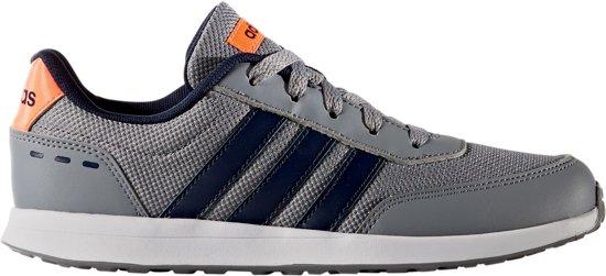 abe968e44db adidas VS Switch 2.0 Sneakers Kids Sportschoenen - Maat 38 - Unisex - grijs /zwart