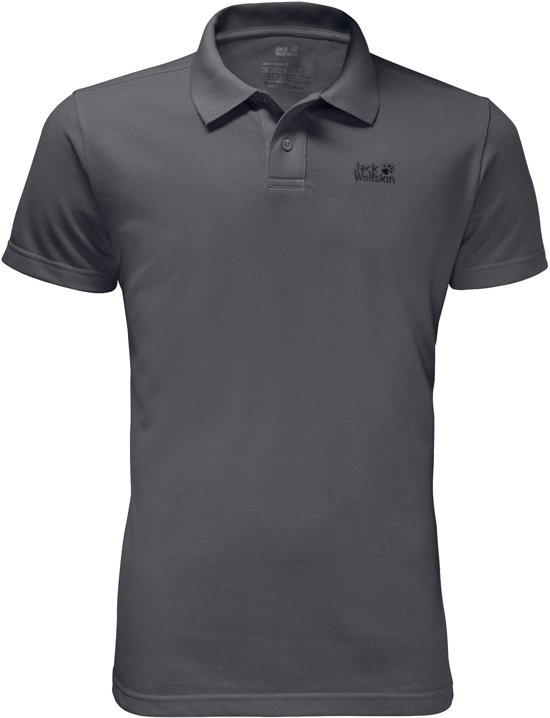 Men Jack Polo Iron Sportpolo HerenDark Pique Wolfskin jL5R4A