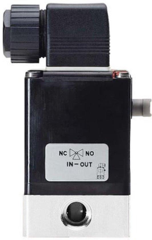 3/2 NC G1/4'' PVDF 24VDC Magneetventiel Burkert 0330 21209 - 21209