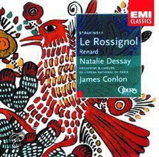 Stravinsky: Le Rossignol, Renard / Dessay, Conlon, et al