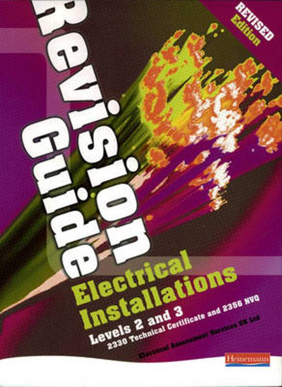 Electrical Installations Revision Guide Revised Edition