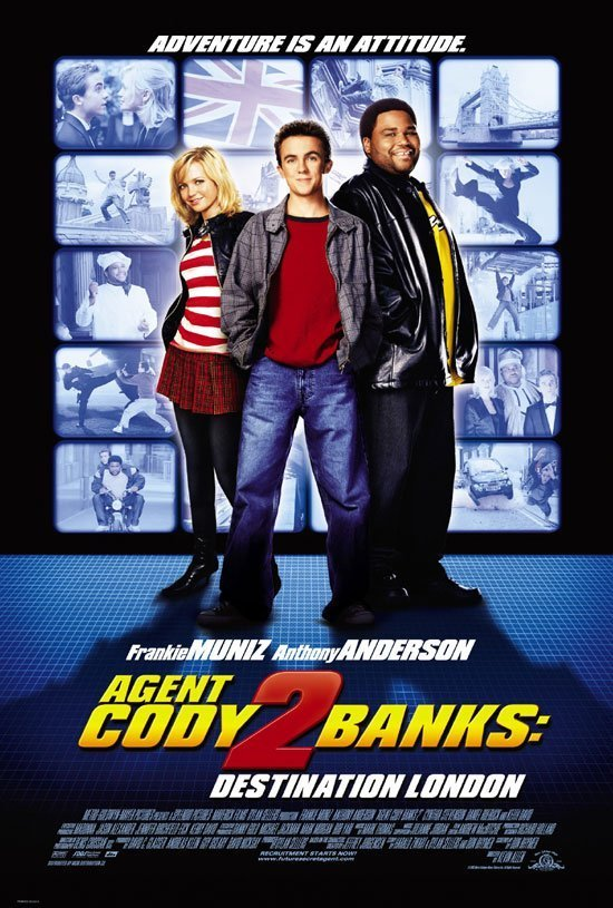 Cover van de film 'Agent Cody Banks 2'