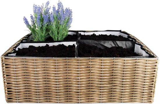 Vierkante Meter Tuin : Bol esschert design opvouwbare vierkante meter tuin b