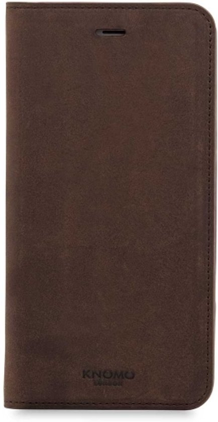 best loved bbf05 5cf02 Knomo iPhone 8+/7+ Premium leather Folio Brown