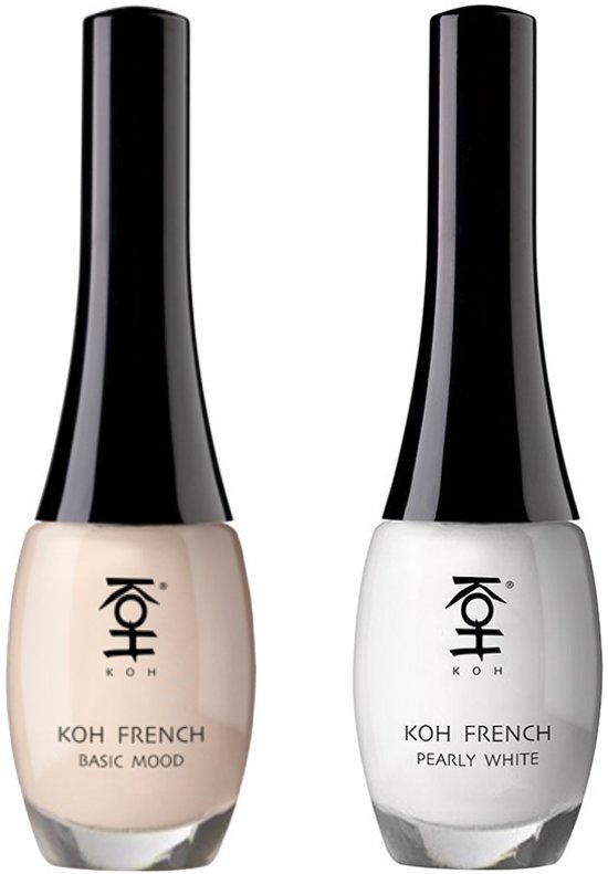 KOH French In Two Steps Nagellak 2 st.