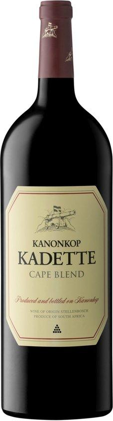 Kanonkop Kadette - Pinotage, Merlot, E.A. - Soepele Rode Wijn - 1 x 150 cl