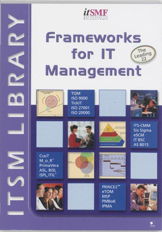 Boek cover Frameworks for IT management van Jan van Bon (Paperback)