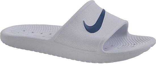 bbf7f5094e8 bol.com   Nike Kawa Shower 832528-100, Mannen, Wit, Slippers maat ...