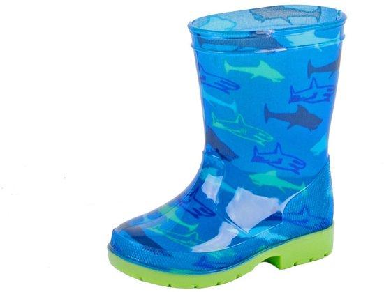 Gevavi Boots Haai kinderlaars pvc blauw 21