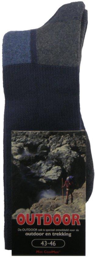 Stapp Herensok Outdoor Marine - Sokken - 39-42