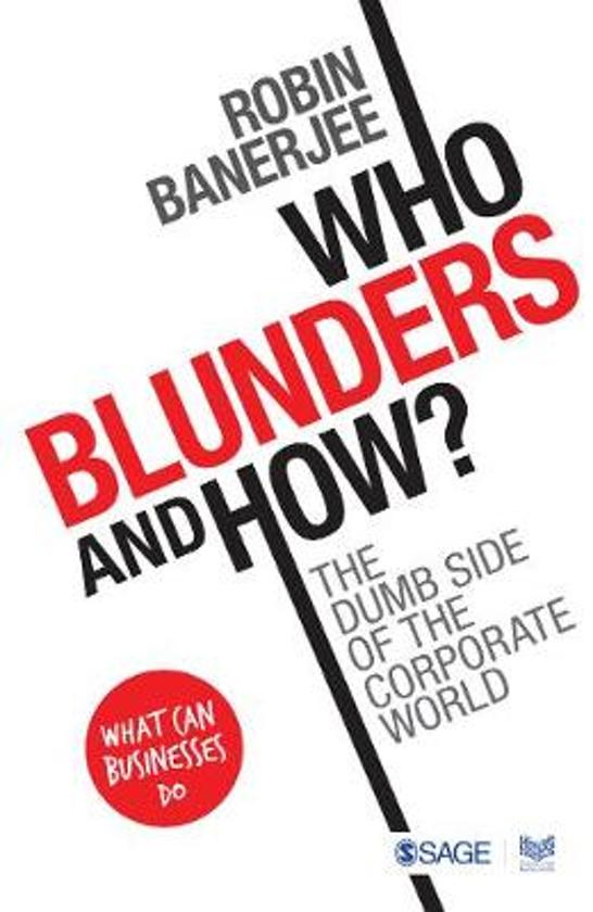 Who Blunders and How