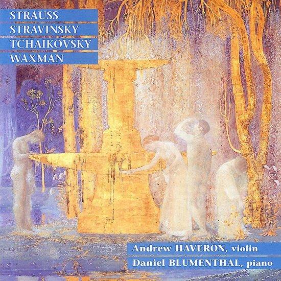 Andrew Haveron, Violin - Daniel Blumenthal, Piano