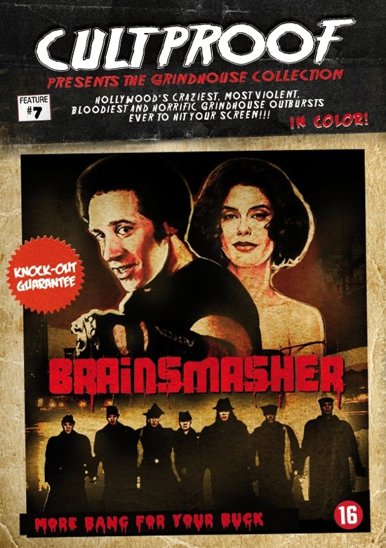 Cover van de film 'Brain Smasher'