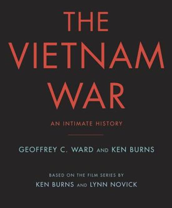 Boek cover The Vietnam War van Ken Burns (Onbekend)