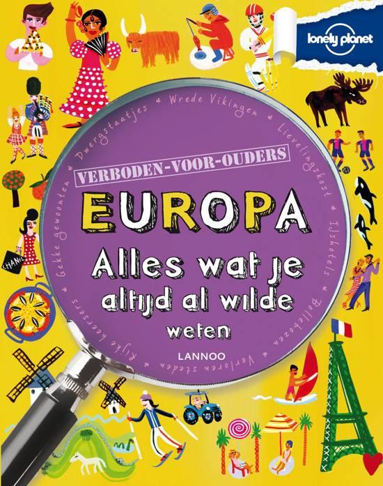 Lonely planet - verboden voor ouders - Europa