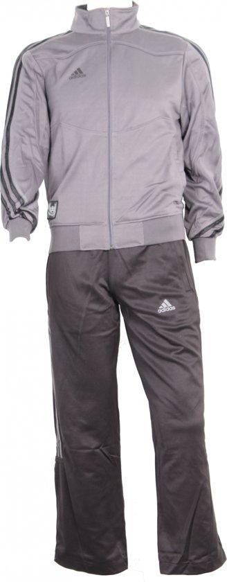Adidas Trainingspak Jersey Zwart/grijs Unisex Maat Xs
